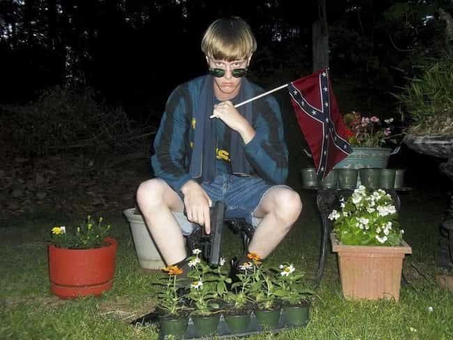 Roof Exploited A Legal Loophol... is listed (or ranked) 3 on the list Dylann Roof Killed Nine People In A Historically Black Church, And Has Been Sentenced To Death