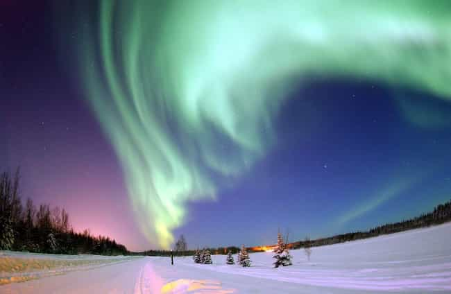 Auroras is listed (or ranked) 3 on the list The Most Rare Atmospheric Phenomena on Earth