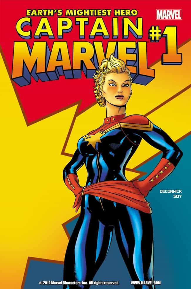 Image result for captain marvel comics