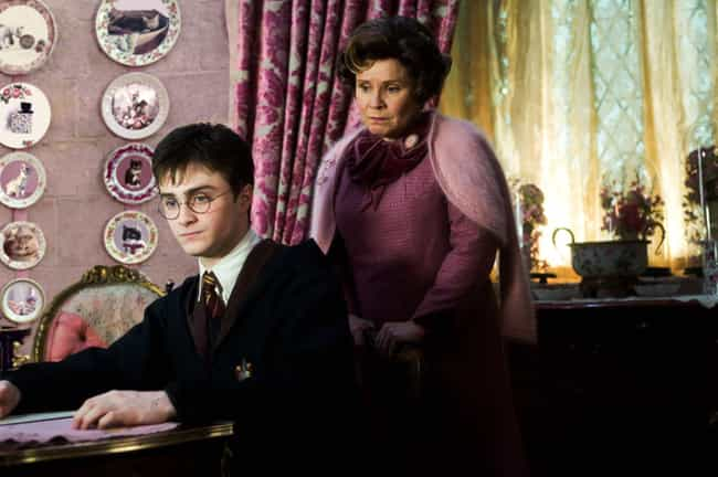 Teachers' Punishments Can ... is listed (or ranked) 2 on the list Hogwarts Should Really Have Been Shut Down Years Ago