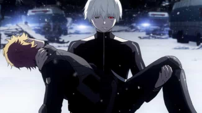 Tokyo Ghoul √A is listed (or ranked) 3 on the list 14 Beloved Anime With Terrible Finales