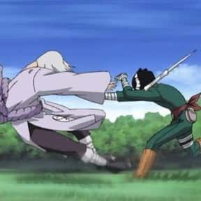 Lee Vs. Kimimaro (Naruto) is listed (or ranked) 4 on the list The 25+ Best Anime Hand to Hand Fights, Ranked