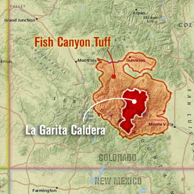 Fish Canyon Eruption is listed (or ranked) 1 on the list The Most Powerful Volcanic Eruptions in Earth's History