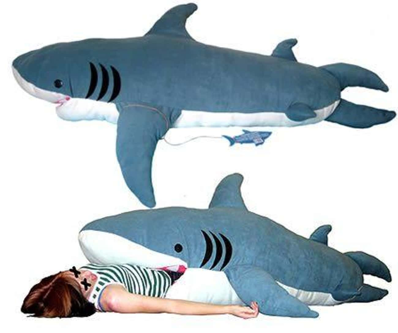 This Sleeping Bag Is Shark-ing is listed (or ranked) 3 on the list Japanese Sleeping Bags Will Confuse And Comfort You At The Same Time