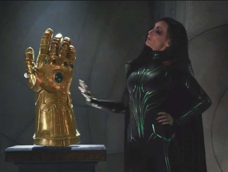 There's A Fake Infinity Gauntlet In Odin's Treasure Room