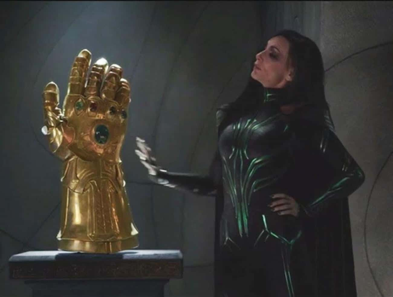 There's A Fake Infinity Ga is listed (or ranked) 2 on the list All Of The Foreshadowing For 'Infinity War' From Marvel's First Decade Of Films