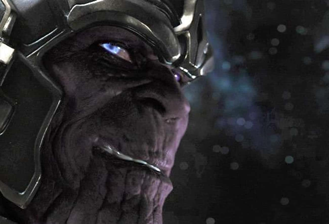 Thanos's Very First Appearance Hinted At His Deadly Intentions