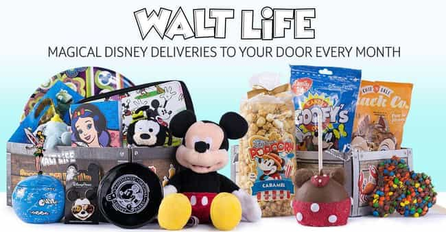 Walt Life is listed (or ranked) 4 on the list The Best Disney Monthly Subscription Boxes