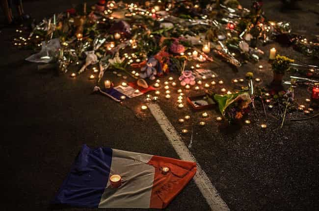 2016 Nice Attack is listed (or ranked) 1 on the list The Deadliest Vehicle-Ramming Terror Attacks In History