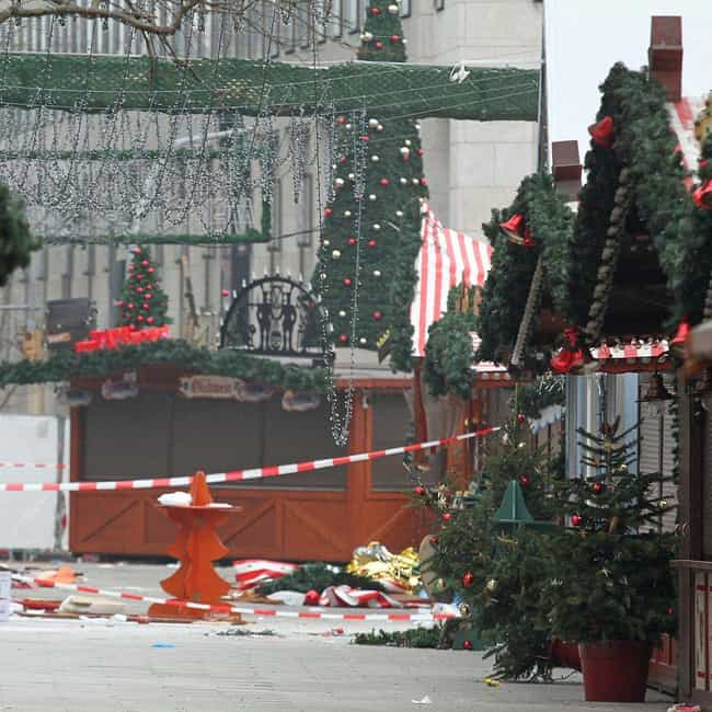 2016 Berlin Attack is listed (or ranked) 4 on the list The Deadliest Vehicle-Ramming Terror Attacks In History