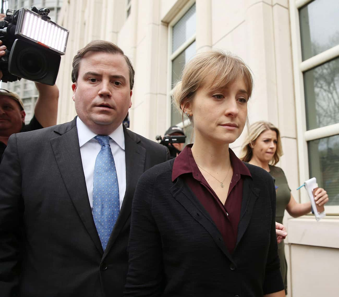 Court Documents Allege Mack&#3 is listed (or ranked) 1 on the list What's Going On With Allison Mack?