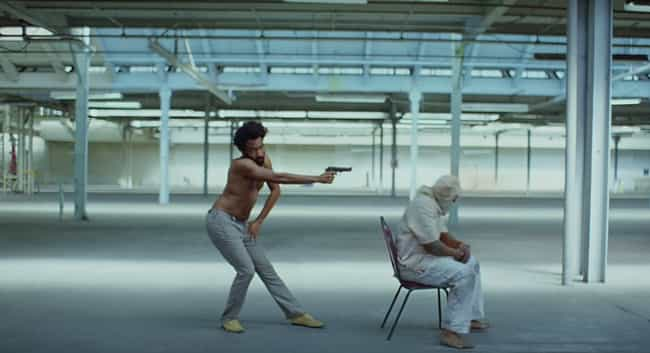 "The Video Is A Critique ... is listed (or ranked) 1 on the list All Of The Hidden Messages In Childish Gambino's ""This Is America"" Video"