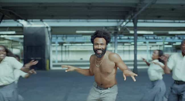 "The Dancing Is A Distrac... is listed (or ranked) 2 on the list All Of The Hidden Messages In Childish Gambino's ""This Is America"" Video"