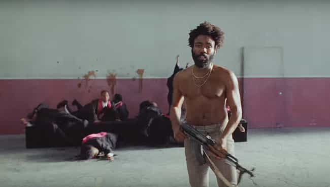 "The Murdered Choir Is A ... is listed (or ranked) 4 on the list All Of The Hidden Messages In Childish Gambino's ""This Is America"" Video"