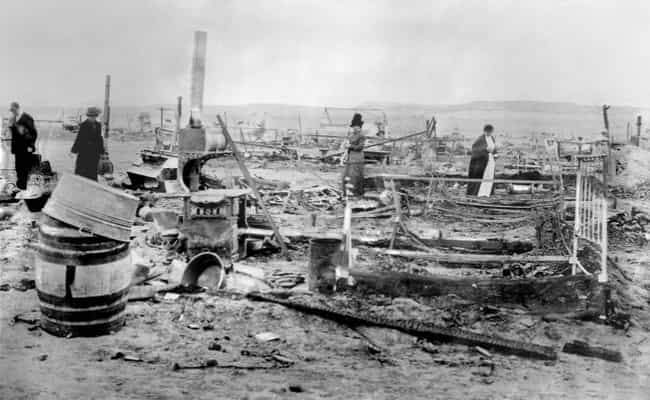 The National Guard Set Fire To... is listed (or ranked) 2 on the list When Their Employees Protested, The Rockefeller Family Struck Back With The Deadly Ludlow Massacre