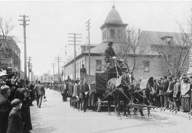 The Strike Claimed Lives On Bo... is listed (or ranked) 4 on the list When Their Employees Protested, The Rockefeller Family Struck Back With The Deadly Ludlow Massacre