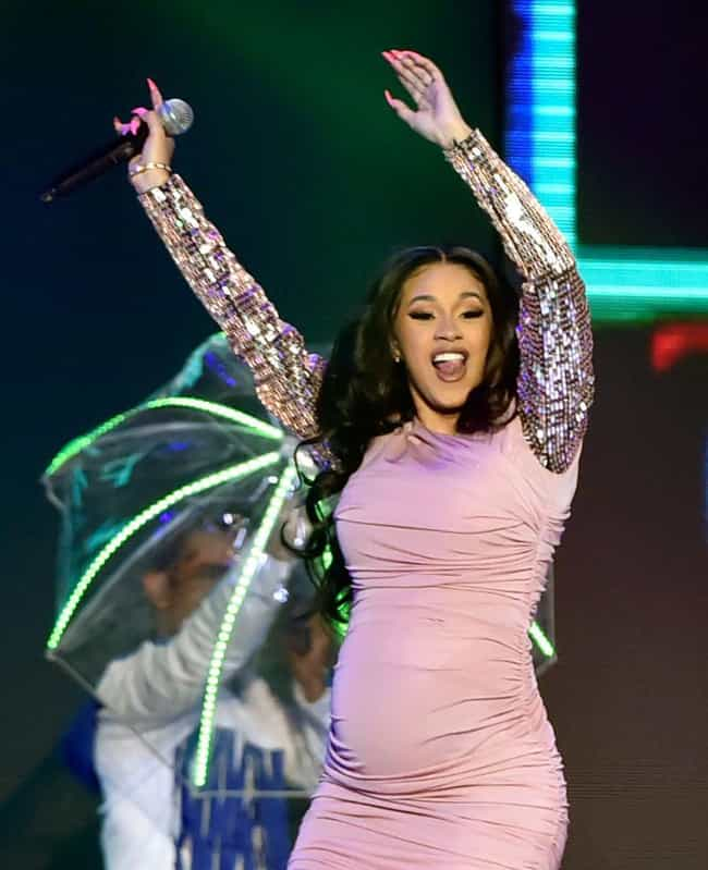 She's Only Taking One Mo... is listed (or ranked) 1 on the list 18 Things We Learned About Cardi B From Her Tell-All Howard Stern Interview