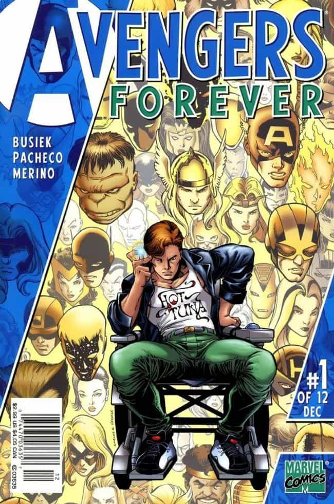 Avengers Forever is listed (or ranked) 4 on the list Comic Storylines That Will Influence Avengers 4