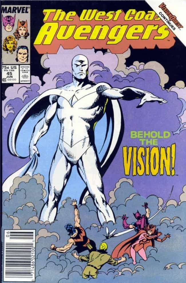 Vision Quest is listed (or ranked) 3 on the list Comic Storylines That Will Influence Avengers 4