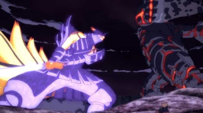 Naruto & Sasuke Vs. Momoshiki ... is listed (or ranked) 2 on the list The Greatest 2 Vs. 1 Anime Fights of All Time