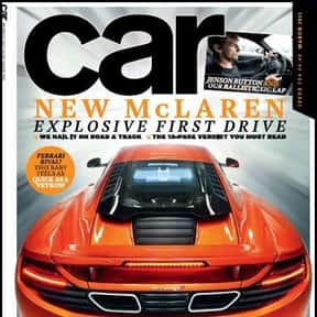 CAR is listed (or ranked) 13 on the list The Very Best Car Magazines, Ranked