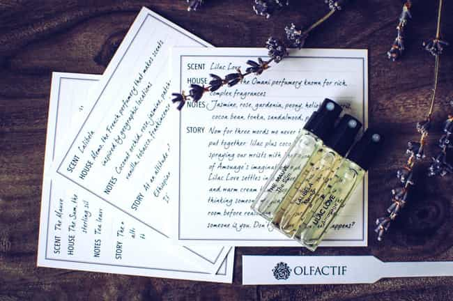 Olfactif is listed (or ranked) 2 on the list The Best Subscription Boxes For Perfume & Fragrance