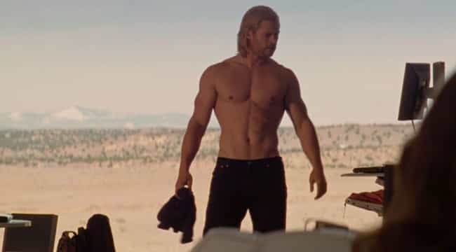 Thor Gets Stripped Of Mo... is listed (or ranked) 2 on the list Every Gratuitous Shirtless Scene In The MCU, Ranked