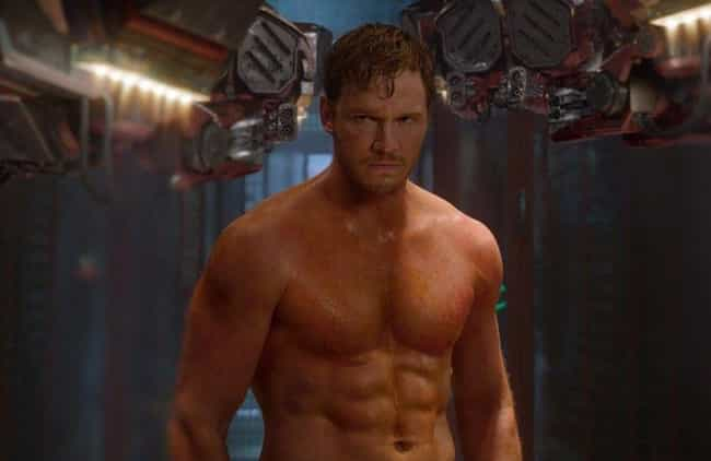 Peter Quill Makes Angst ... is listed (or ranked) 4 on the list Every Gratuitous Shirtless Scene In The MCU, Ranked