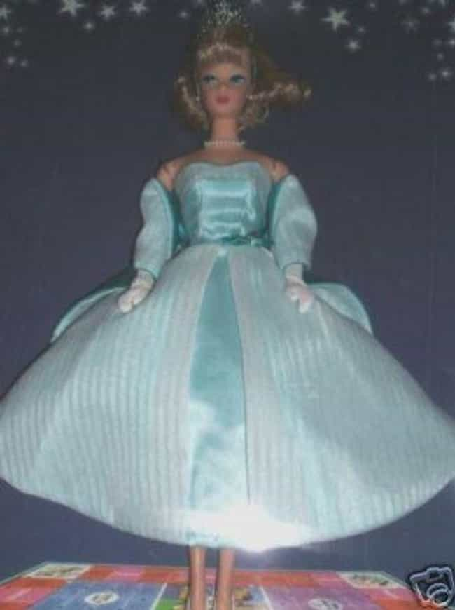 Queen Of The Prom Barbie (2001... is listed (or ranked) 4 on the list Rare Barbies That Are Worth A Lot Of Money Now