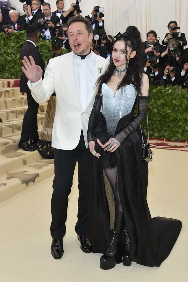 Grimes And Elon Musk Met... is listed (or ranked) 1 on the list Who Is Grimes, The Pop Genius Who Just So Happens To Be Dating Elon Musk?