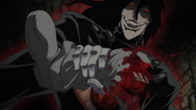 Alucard Obliterates Luke Valen... is listed (or ranked) 4 on the list The Most Humiliating Anime Villain Defeats Of All Time