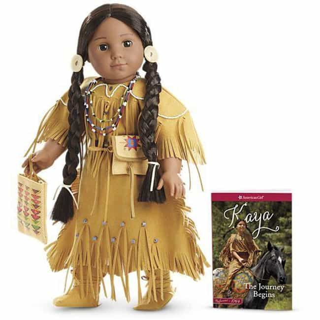 Kaya'aton'my: $596 is listed (or ranked) 4 on the list American Girl Dolls That Are Worth A Ton Now