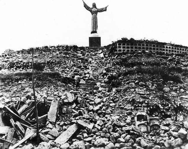 1970 Yungay Landslide is listed (or ranked) 4 on the list The Worst Landslides in History