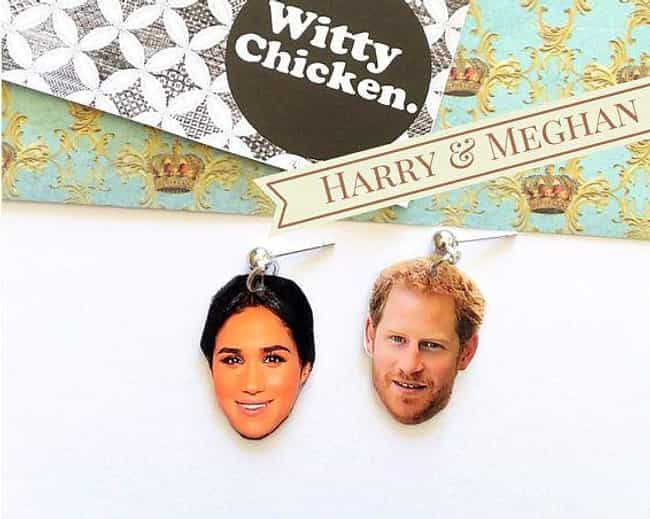 Earrings is listed (or ranked) 3 on the list The Weirdest Royal Wedding Merchandise You Can Actually Buy