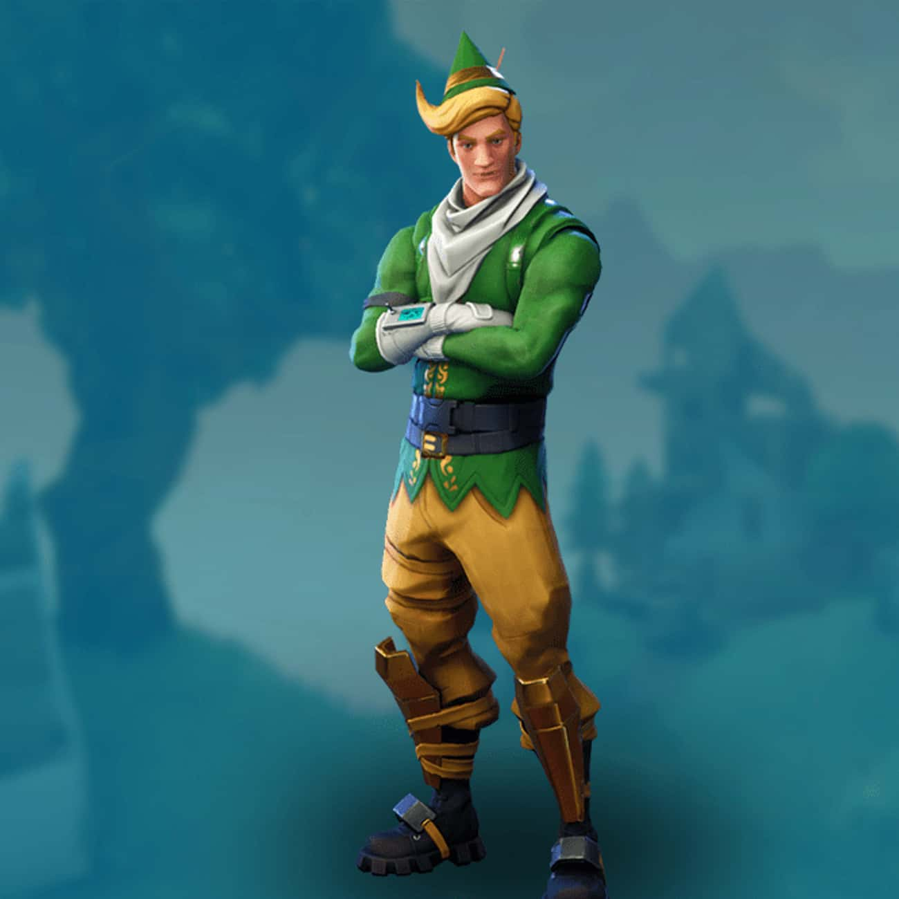Codename ELF is listed (or ranked) 3 on the list The Best Green Skins In 'Fortnite'