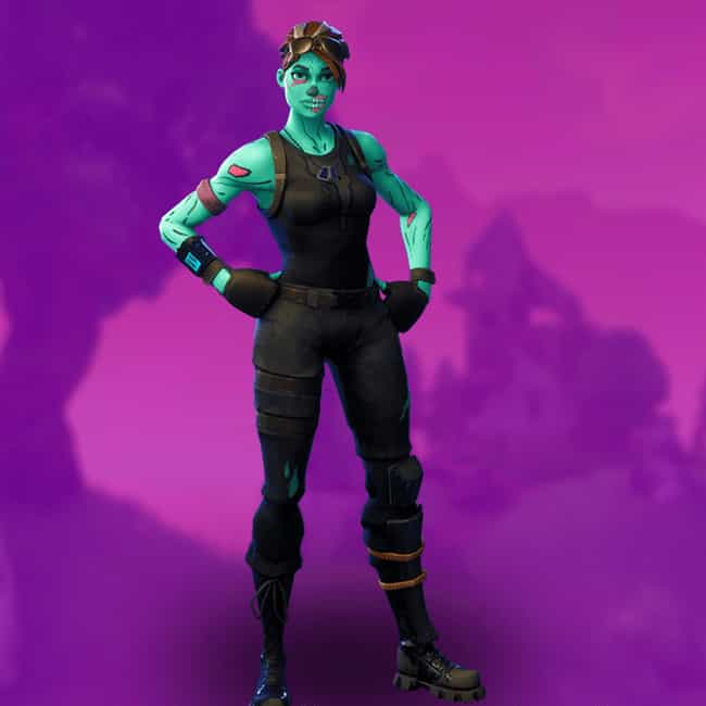 Ghoul Trooper is listed (or ranked) 4 on the list The Best Outfit Skins In 'Fortnite: Battle Royale,' Ranked