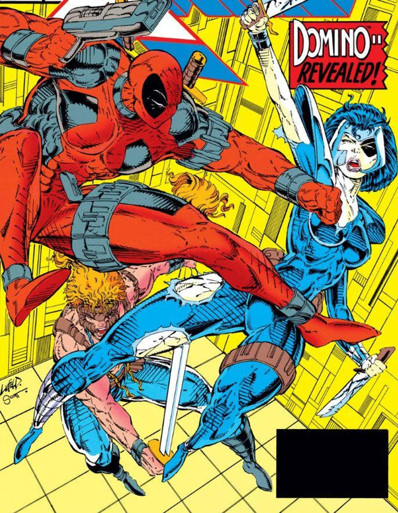 When The Two Meet, Deadpool's  is listed (or ranked) 2 on the list How Did Deadpool And Cable Become Comic Book Besties, Anyway?