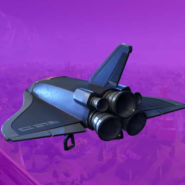 Deep Space Lander is listed (or ranked) 2 on the list The Best Gliders In 'Fortnite: Battle Royale,' Ranked