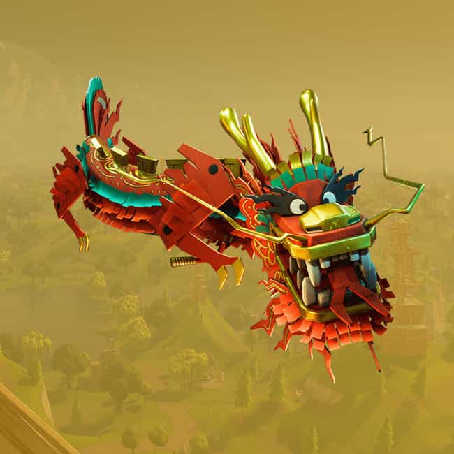 Royale Dragon is listed (or ranked) 4 on the list The Best Gliders In 'Fortnite: Battle Royale,' Ranked