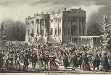 President Andrew Jackson Invit is listed (or ranked) 2 on the list The 13 Wildest Parties In History