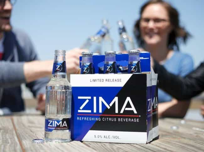 It Was Part Of The Clear Craze... is listed (or ranked) 2 on the list Zima, The Gen X Beverage Of Choice, Is Coming Back