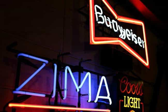 It Was Initially A Big Seller,... is listed (or ranked) 3 on the list Zima, The Gen X Beverage Of Choice, Is Coming Back