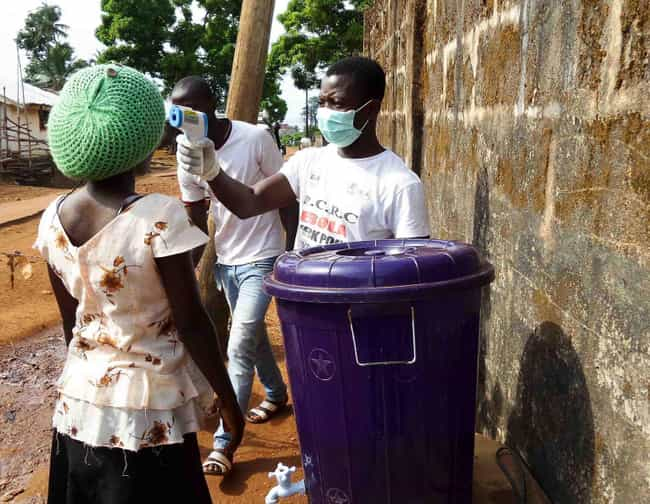 2013 - 2016 West African Ebola... is listed (or ranked) 1 on the list The Biggest Ebola Outbreaks Of All Time
