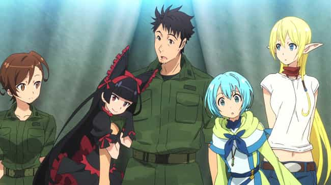 GATE Is Listed Or Ranked 3 On The List 13 Best Anime Like