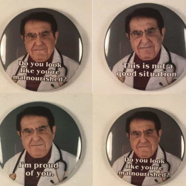 Dr. Now Refrigerator Magnets is listed (or ranked) 1 on the list 14 Pieces Of Outrageous 'My 600-lb. Life' Fan Art