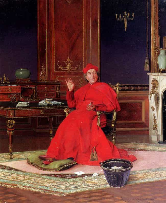 When A Priest Vomited During M... is listed (or ranked) 1 on the list When The Vatican Couldn't Stop People Leaving Mass To Snort Snuff, They Started A Tobacco Factory
