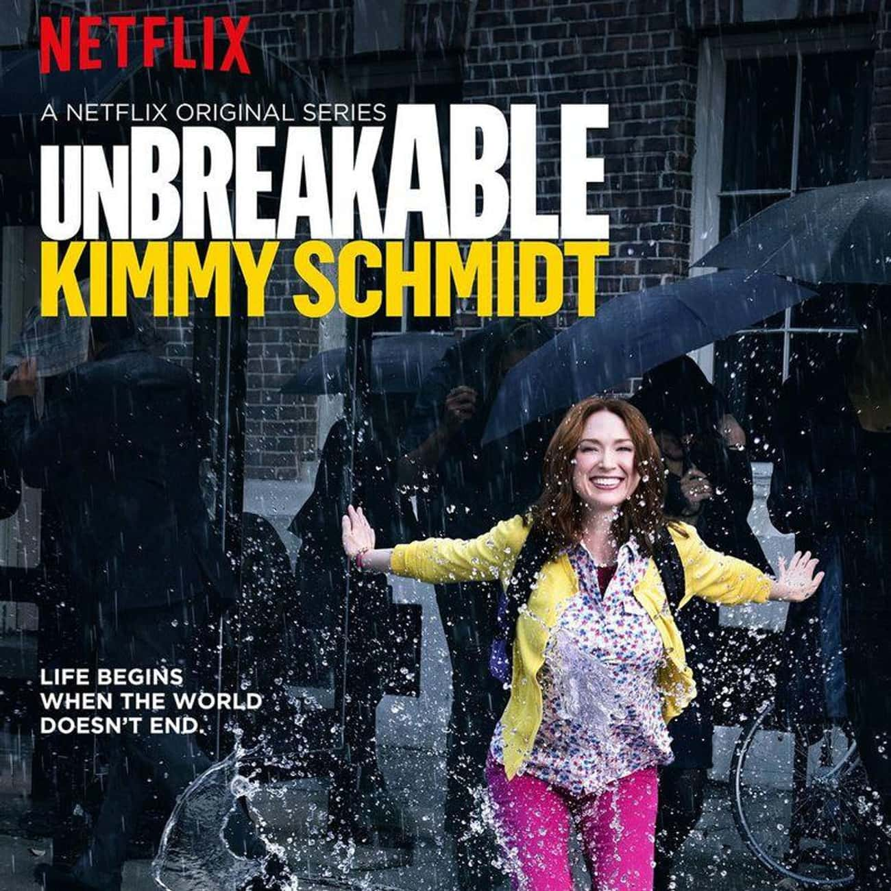 Unbreakable Kimmy Schmidt - Se is listed (or ranked) 2 on the list Ranking the Best Seasons of 'Unbreakable Kimmy Schmidt'