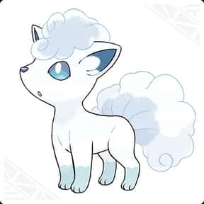 Alolan Vulpix  is listed (or ranked) 16 on the list The Greatest Fox Characters of All Time
