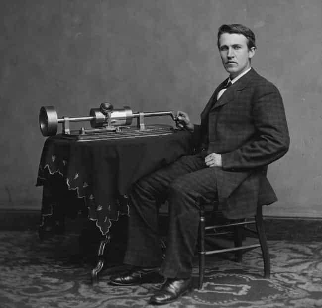 Thomas Edison Kicked Off Recor... is listed (or ranked) 3 on the list The History Of Music Piracy