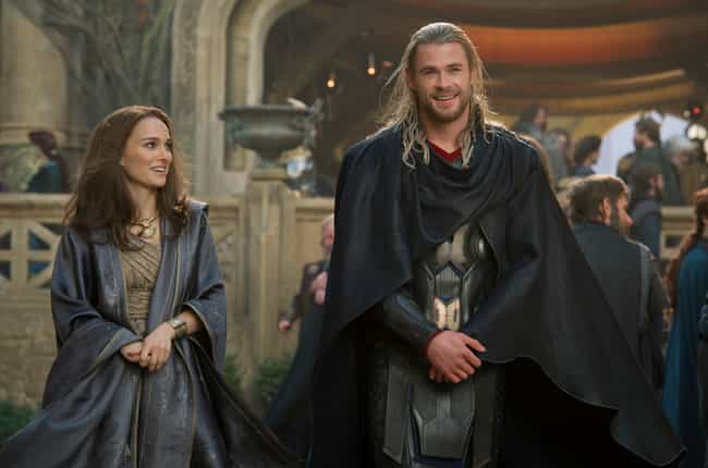 Thor And Jane Foster is listed (or ranked) 2 on the list Ranking The Most Annoying Romantic Relationships In The MCU